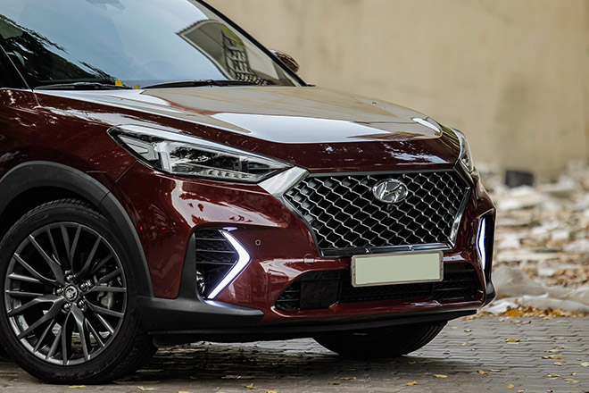 Cận cảnh hai chiếc Hyundai Tucson nâng cấp body kit N-Line đầu tiên tại Việt Nam - 7