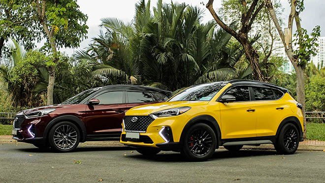 Cận cảnh hai chiếc Hyundai Tucson nâng cấp body kit N-Line đầu tiên tại Việt Nam - 1