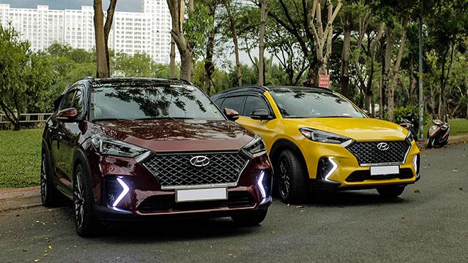 Cận cảnh hai chiếc Hyundai Tucson nâng cấp body kit N-Line đầu tiên tại Việt Nam - 4