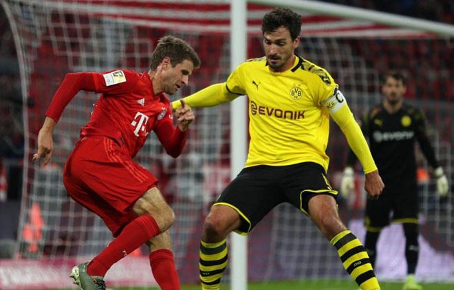"""Giải top 3 châu Âu cực nóng vòng 27: Bayern, Dortmund chạy đà đấu """"kinh điển"""" - 1"""