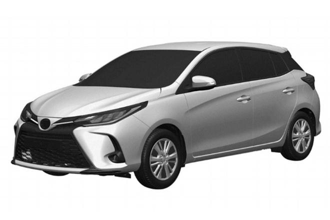 Toyota Yaris 2021 rò rỉ hình ảnh bằng sáng chế, nhiều thay đổi đáng chú ý - 1