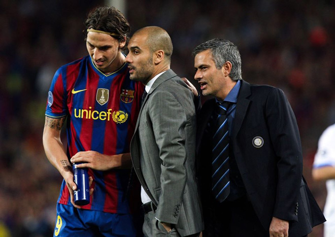 10 năm Mourinho vô địch Cúp C1, thì thầm với Pep điều sững người - 2