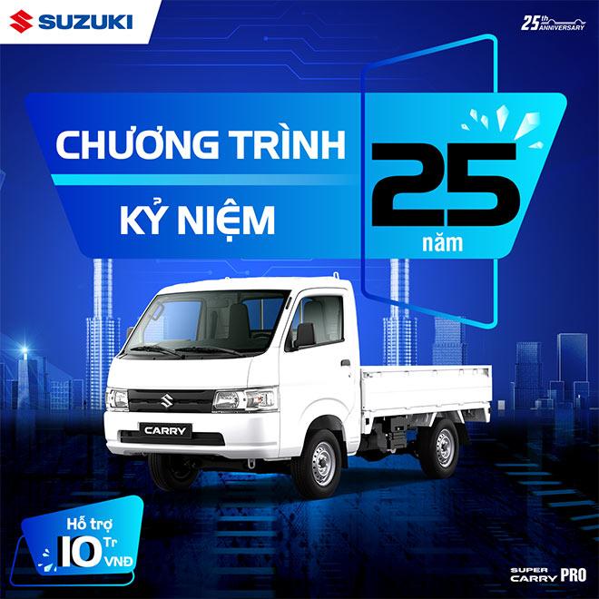 25 năm gắn kết yêu thương, Suzuki Việt Nam gửi quà tặng đặc biệt trong tháng 5 - 3