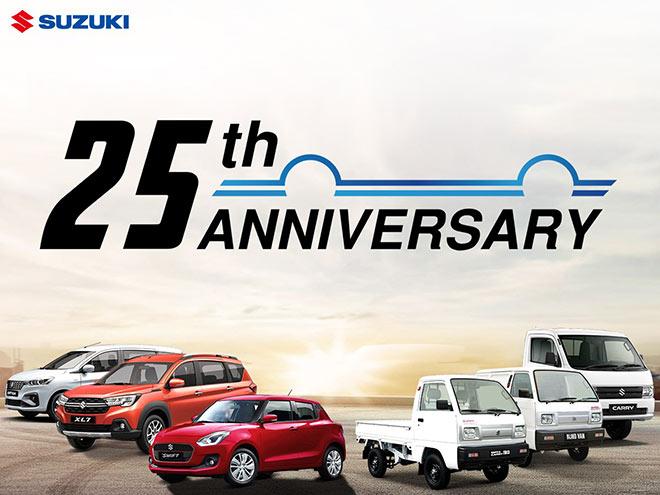 25 năm gắn kết yêu thương, Suzuki Việt Nam gửi quà tặng đặc biệt trong tháng 5 - 1