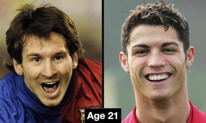 """Ronaldo """"béo"""" 21 tuổi ghi bàn quá khủng: Ronaldo, Messi không có """"cửa"""" - 2"""