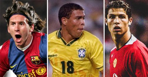 """Ronaldo """"béo"""" 21 tuổi ghi bàn quá khủng: Ronaldo, Messi không có """"cửa"""""""