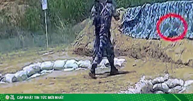 TQ: Tân binh ném lựu đạn lỗi suýt lãnh đủ