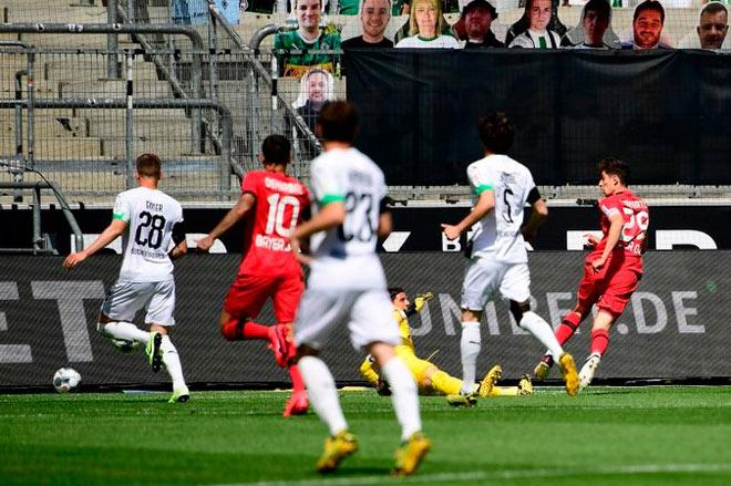 Trực tiếp bóng đá Monchengladbach - Bayer Leverkusen: Chiến thắng thuyết phục (Hết giờ) - 8