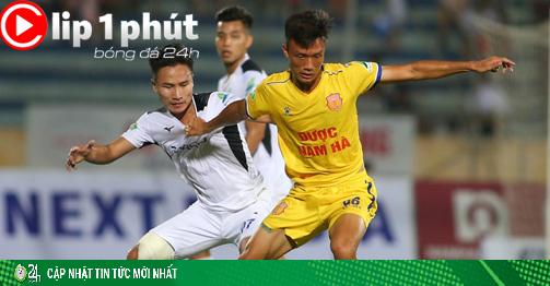 Trận đấu kỳ lạ Nam Định - HAGL khiến thế giới ghen tị ra sao? (Clip 1 phút Bóng đá 24H)