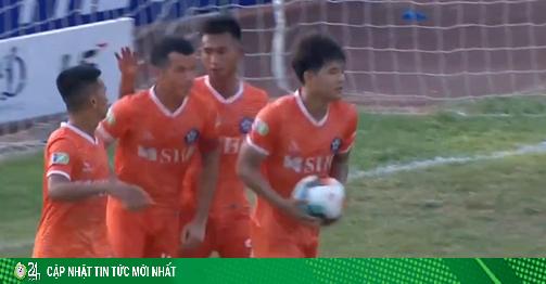 Video highlight trận Huế - Đà Nẵng: Hà Đức Chinh tỏa sáng, giành vé nhọc nhằn