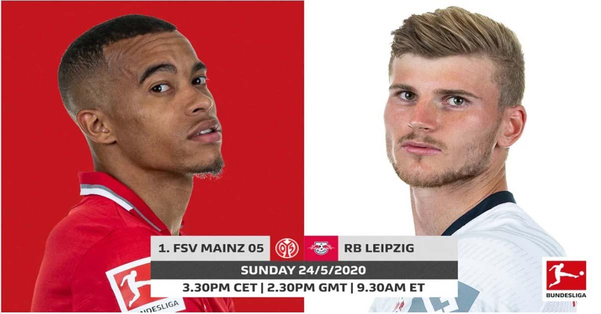 Trực tiếp bóng đá Mainz 05 - RB Leipzig: Tấn công rực lửa, 4 bàn ngoạn mục