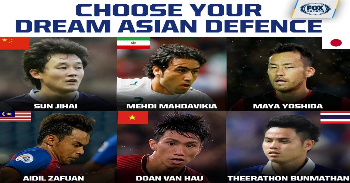 Văn Hậu vang danh thế giới, lọt top 9 hậu vệ hay nhất châu Á