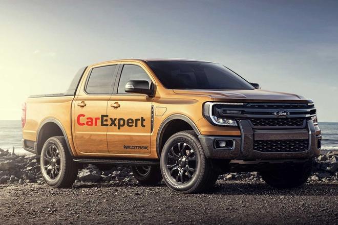 Lộ thiết kế Ford Ranger thế hệ mới, góc cạnh và nam tính hơn - 1