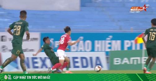 Video highlight trận Hồng Lĩnh Hà Tĩnh - Tây Ninh:...
