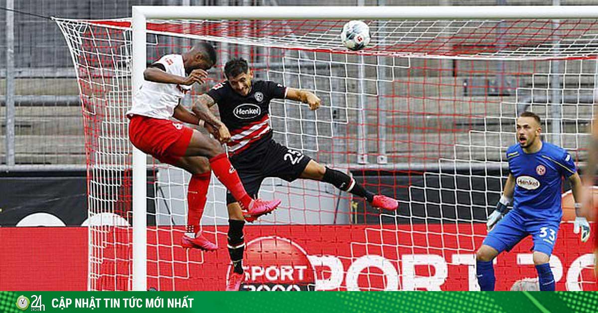 Video highlight trận Koln - Fortuna Dusseldorf: 3 phút cuối vỡ òa, 4 bàn mãn nhãn