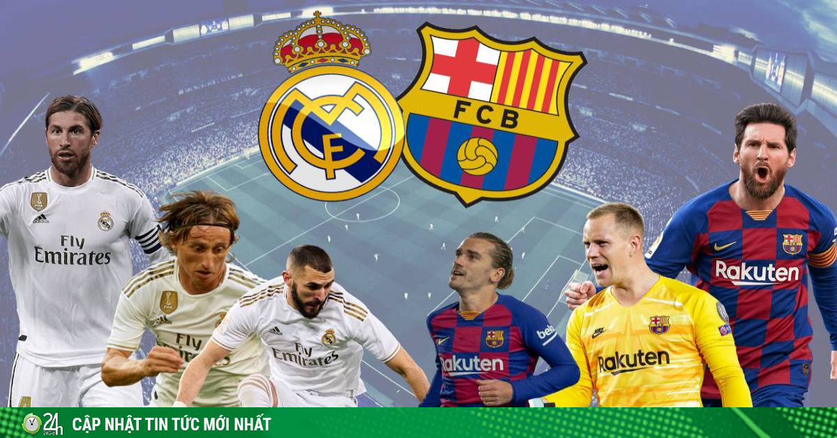 Nghẹt thở đua vô địch La Liga hậu Covid-19: Barca hay Real đang nhỉnh hơn?