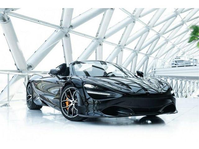 Siêu phẩm McLaren 720S Spider thứ 5 sắp về Việt Nam