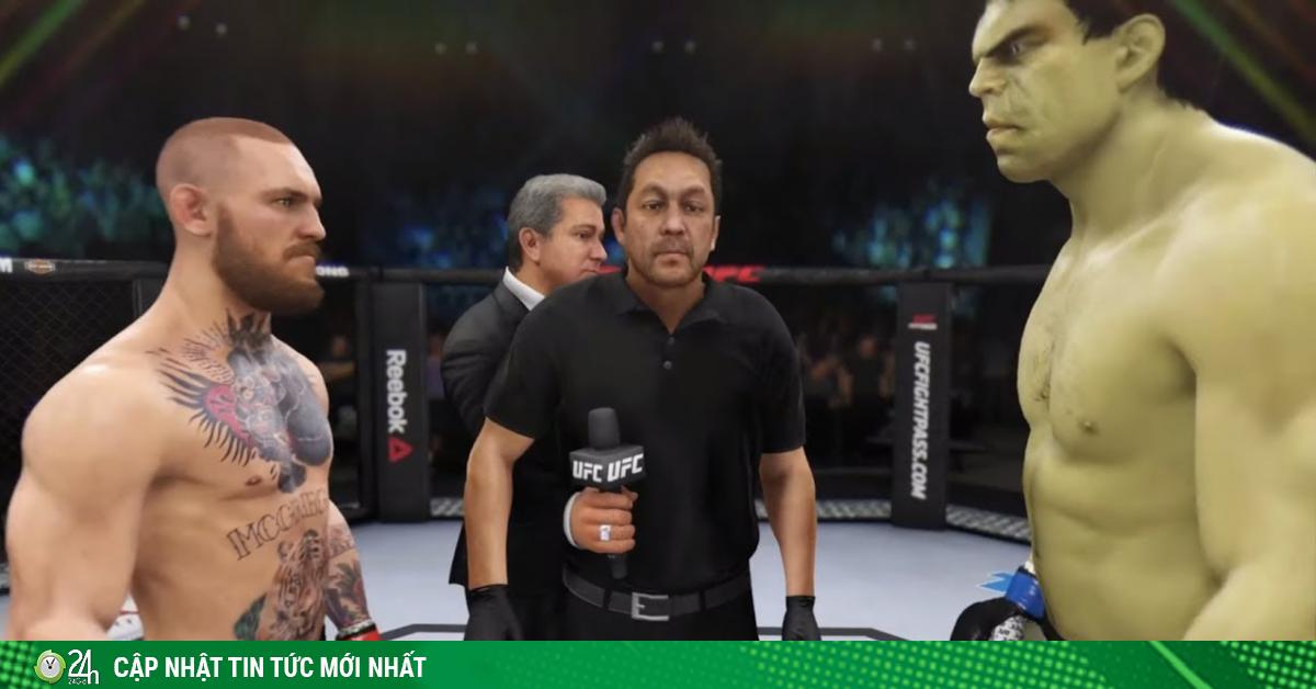Gã điên McGregor đấu Khổng lồ xanh Hulk: Đòn kết liễu hạng nặng