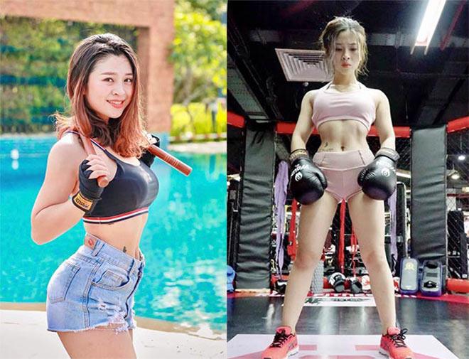 """Hot girl múa côn như Lý Tiểu Long nhận """"bão"""" tán tỉnh, tung clip """"hoa cả mắt"""" - 1"""