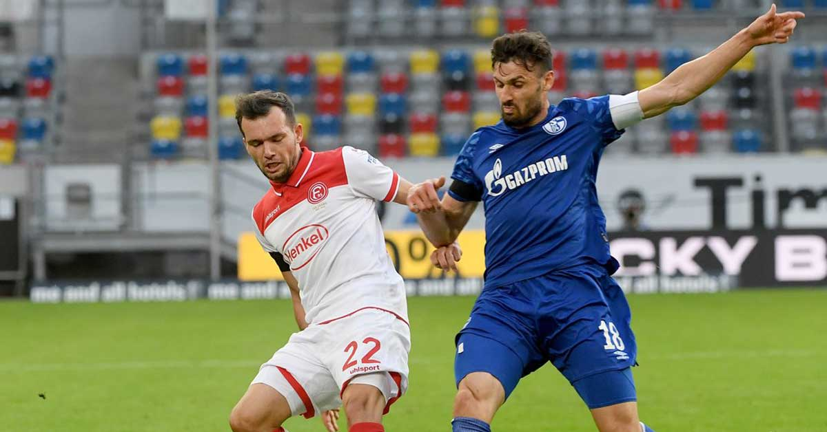 Video highlight trận Dusseldorf – Schalke 04: Hiệp 2 tưng bừng, ngược dòng sững sờ
