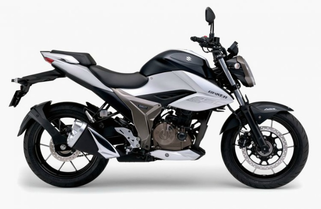 Suzuki Gixxer 250 BS6 màu đen bạc