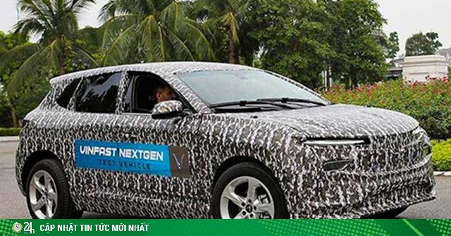 Bắt gặp xe SUV hoàn toàn mới của hãng VinFast tại Việt Nam
