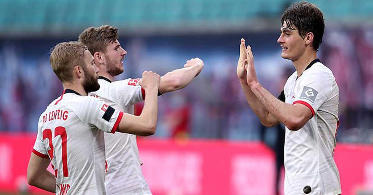 Video highlight trận RB Leipzig – Hertha Berlin: Cú sốc đầu trận, kết thúc hụt hẫng