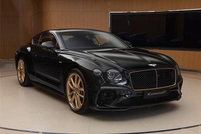 Bentley Continental GT Aurum Edition mạ vàng sản xuất 10 chiếc toàn cầu - 1
