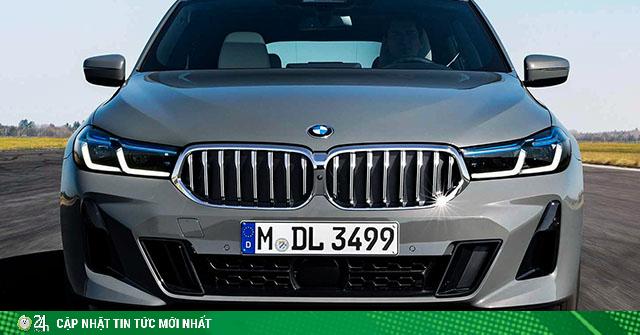 BMW 6-Series Gran Turismo phiên bản nâng cấp dùng động cơ mild-hybird ra mắt toàn cầu