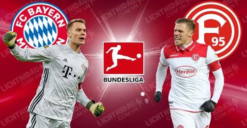 Trực tiếp bóng đá Bayern Munich –  Dusseldorf: Mưa bàn thắng tại Allianz