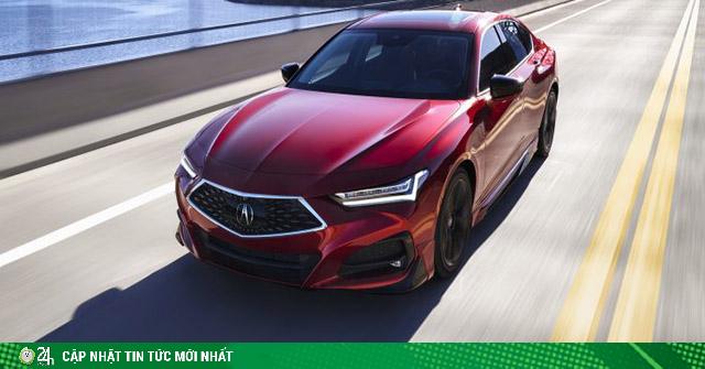 Acura TLX 2021 ra mắt - mẫu sedan thuộc thương hiệu xe sang của Honda