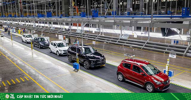 Chính thức phê duyệt giảm 50% lệ phí trước bạ ô tô sản xuất, lắp ráp trong nước