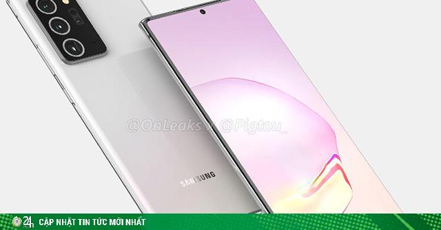 Lộ mặt các tùy chọn màu siêu hot của Galaxy Note 20