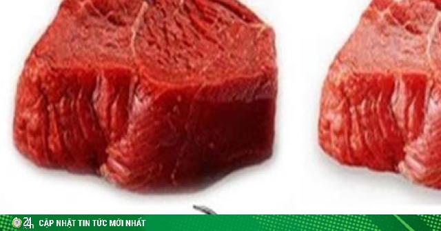 Thịt bò và thịt trâu giống hệt nhau, bạn có biết cách phân biệt?