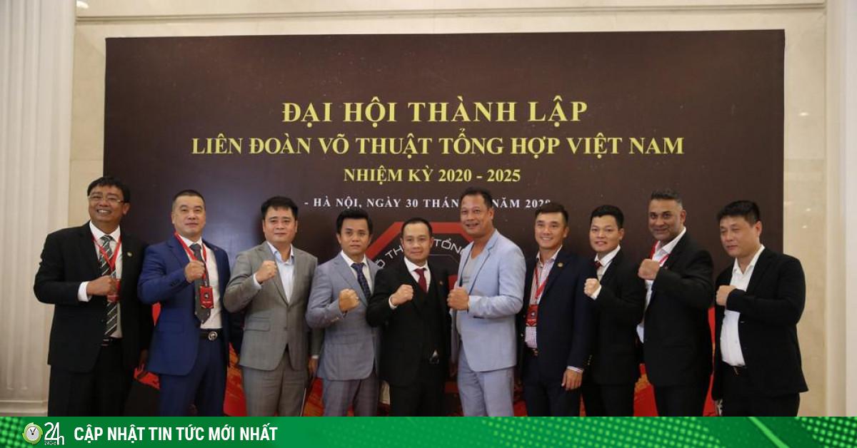 Thành lập Liên đoàn Võ tổng hợp Việt Nam