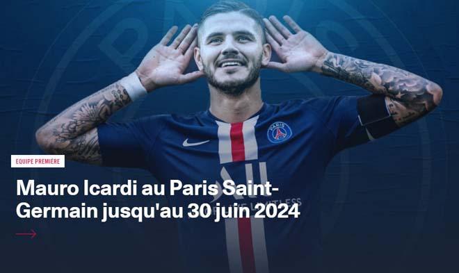 """""""Bom tấn"""" đầu tiên hè 2020: PSG mua đứt Icardi, MU hưởng lợi bất ngờ - 1"""