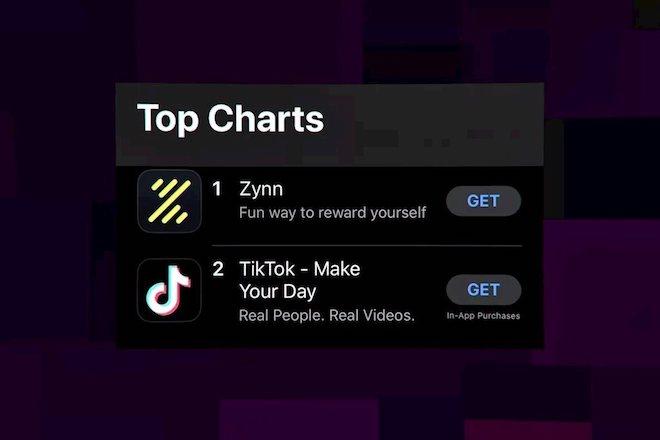 Ứng dụng nhái TikTok lên top App Store nhờ chiêu trả tiền cho người dùng xem video - 1
