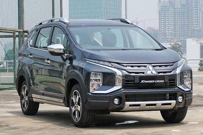 Mẫu xe ôtô sắp ra mắt - Mitsubishi Xpander Cross