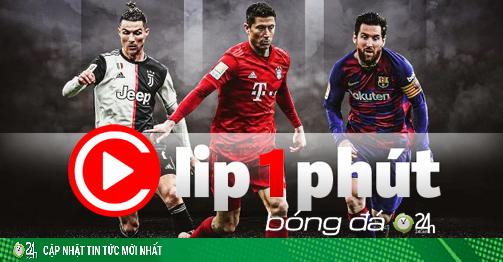 Siêu tiền đạo làm lu mờ Ronaldo - Messi, thăng hoa số 1 châu Âu (Clip 1 phút Bóng đá 24H)