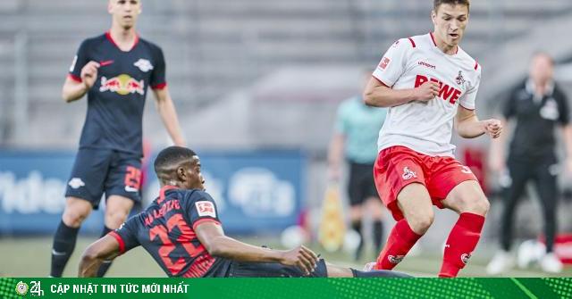 Video highlight trận Koln - RB Leipzig: Tưng bừng 6 bàn, đón 2 kỷ lục