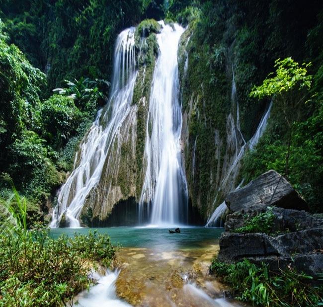Du lịch Na Hang, Tuyên Quang không thể không ghé thác Khuổi Nhi - 6