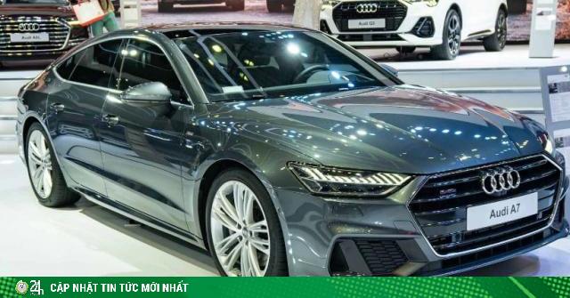 Giá xe Audi 2020 tháng 6: Cập nhật mới nhất tất cả các phiên bản