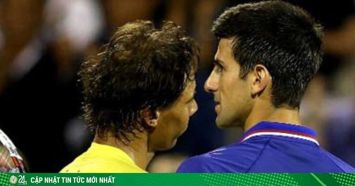 Nadal đánh bóng thẳng vào mặt, Djokovic tức giận quay đi
