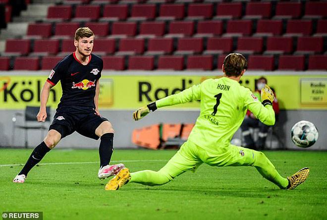 Video highlight trận Koln - RB Leipzig: Tưng bừng 6 bàn, đón 2 kỷ lục - 2