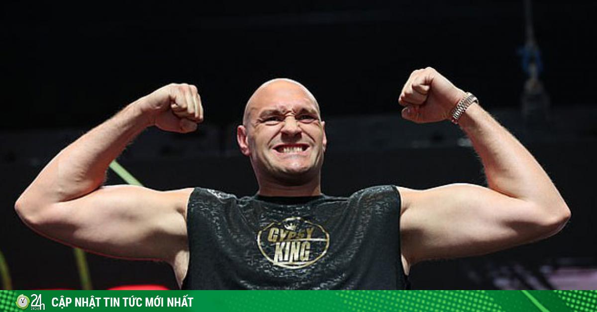 Choáng váng tin trùm boxing Tyson Fury có giá nghìn tỷ USD