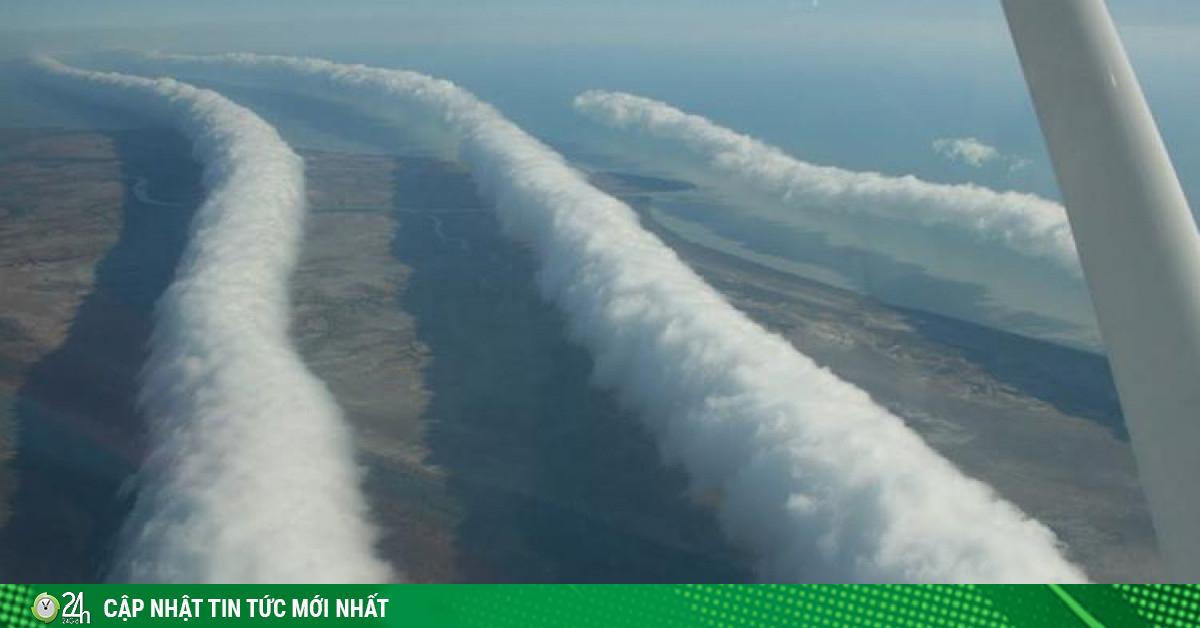 Video: Cận cảnh mây hình ống dài 1.000 km hiếm gặp