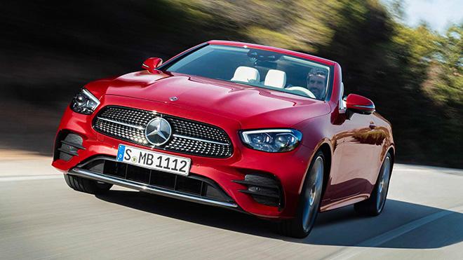 Cận cảnh Mercedes-Benz E-Class 2021 Cabriolet vừa ra mắt toàn cầu - 5