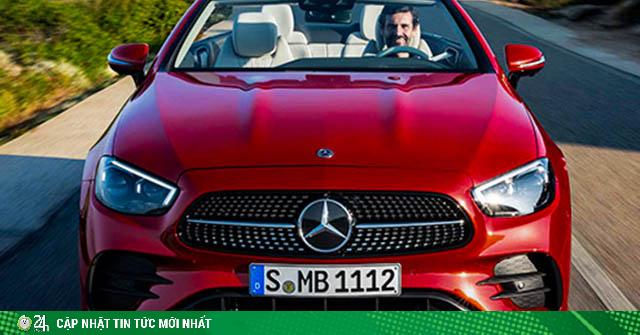 Cận cảnh Mercedes-Benz E-Class 2021 Cabriolet vừa ra mắt toàn cầu