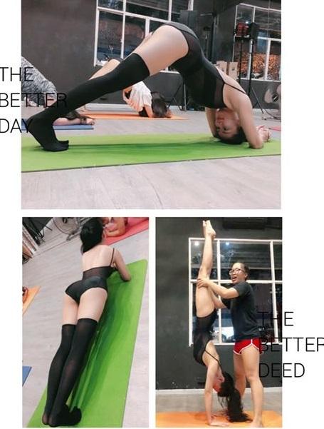 Tiếp viên hàng không là hoa hậu tập tập twerking để tăng cỡ vòng 3 - 5