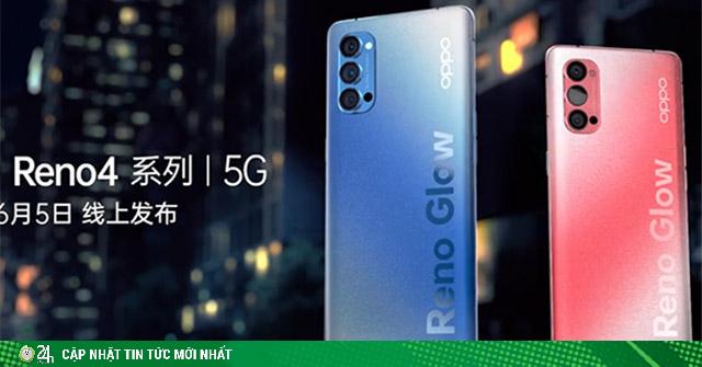 Lộ ngoại hình siêu ấn tượng của Oppo Reno4 Pro